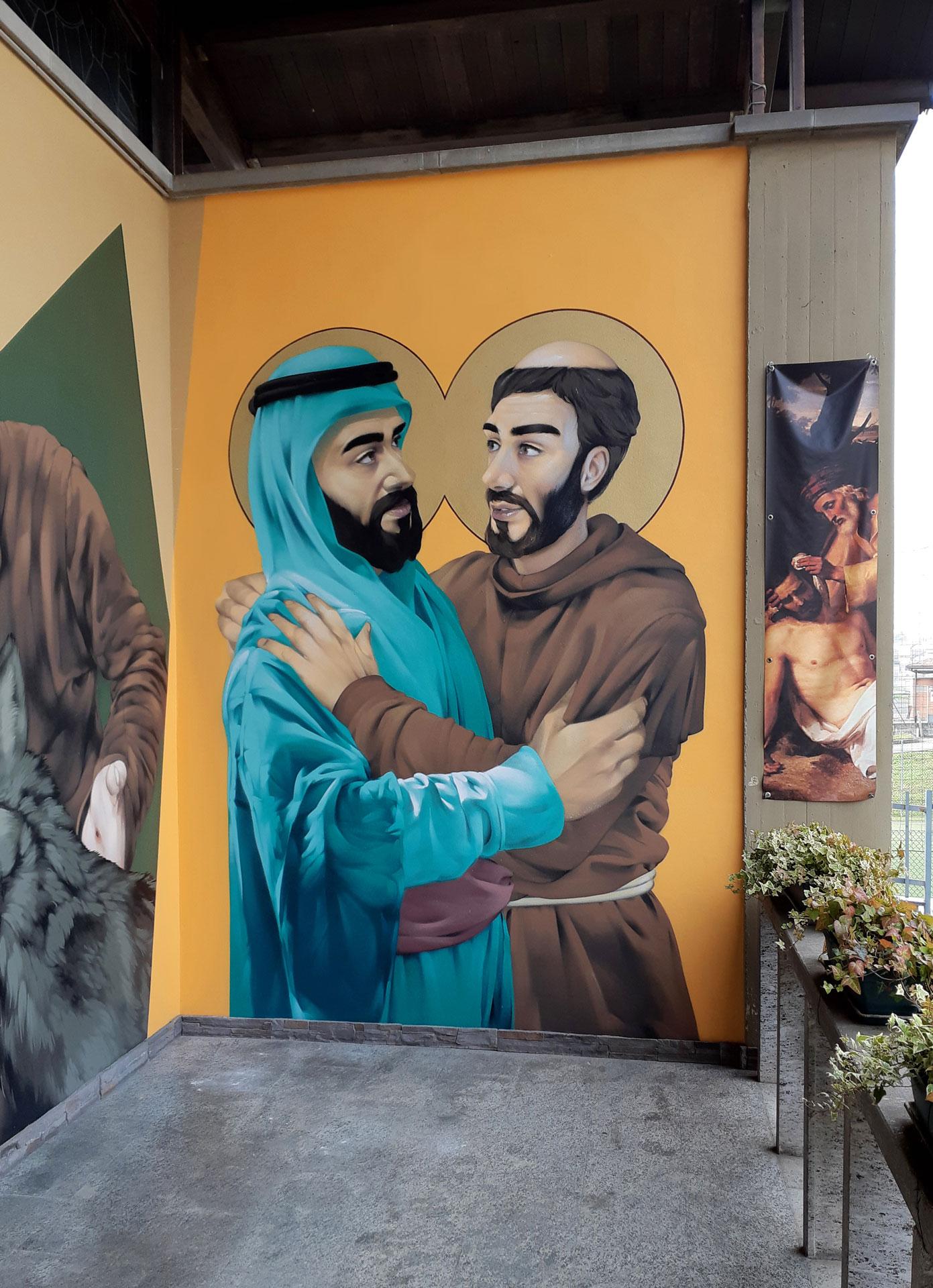 San-Francesco-e-Saladino,-Treviglio-(BG),-2018